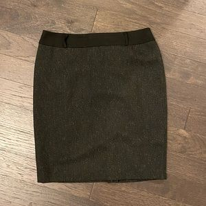 Antonio Melani Pencil Skirt Grey and Black
